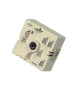 Selector para vitrocerámica Teka, 5055021100, 605922, 816810182, giro izquierdo