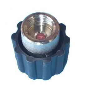 """Tapon válvula de 1/2"""" hembra.Medida interior 19 mm. 49BQ092"""