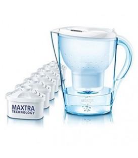 Pack especial jarra Marella blanca de Brita + 5 fi BRI155