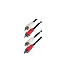 Cable 2 rca macho - 2RCA macho 5m A5