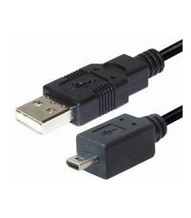 Cable usb a m - 8 pin mini usb m E-C158GM