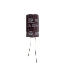 Condensador electrolitico 1000MF- 35V CERL-1000MF-35V