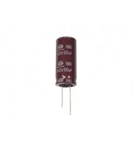 Condensador electrolitico 100MF- 400V CERL-100MF-400V