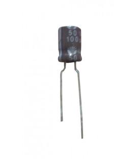Condensador electrolitico 100MF-50V  CERL-100MF-50V