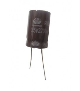 Condensador electrolítico 2200MF- 35V  CERL-2200MF-35V