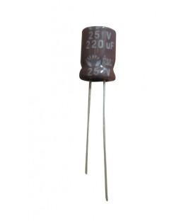 Condensador electrolitico 220MF / 25V CERL-220MF-25V