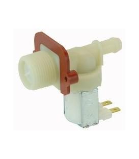 Electroválvula para lavadora universal, salida 180º, 12mm 481981729329
