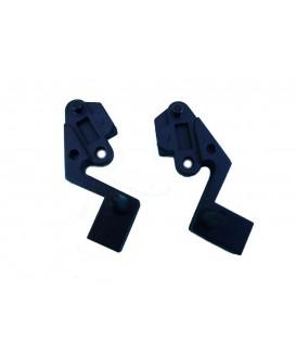 Soporte izquierdo y derecho para visera campana extractora Teka CE60, C601, C602, C901. 41TK0025