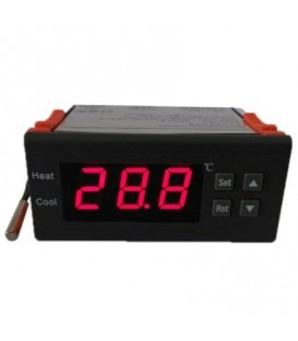 CONTROLADOR TEMPERATURA DIGITAL -40º A 120º CON SONDA 19TC1007