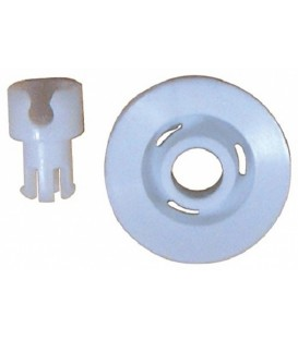 RUEDA PARA CESTO INFERIOR LAVAVAJILLAS ARISTON INDESIT, D3020WF, D320BG 104637