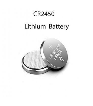 Pila botón de litio, CR2450
