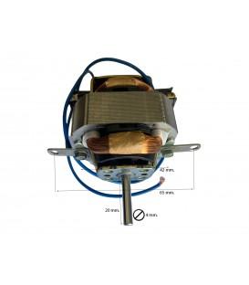 Motor para secador pelo 800W Eje 20mm 49MH002R