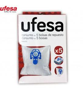 BOLSAS ASPIRADOR UFESA 00579169. CONTENIDO 5 BOLSAS