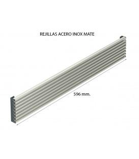 REJILLAS HORNO Y FRIGORÍFICO ACERO INOX MATE 596x12mm. 510UN1061