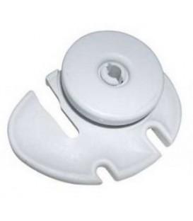Kit rueda cesto lavavajillas gris izquierda AEG, Zanussi 50269766007