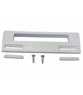 Tirador puerta frigorífico standard blanco, 18,80 cm x 6,50 cm. 35FR135